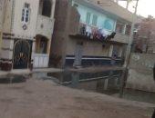 فيديو.. شكوى من انتشار مياه الصرف ونقص الخدمات الصحية بقرية الجابرية بالغربية
