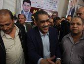"""فيديو.. ضياء رشوان للصحفيين بعد فوزه نقيبا: """"النقابة لم ولن يكون لها وجود إلا بكم"""""""