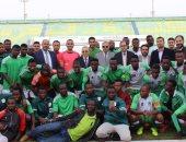 صور.. منافسة قوية فى اليوم الثانى لأولمبياد شباب جامعات أفريقيا بجامعة الأزهر