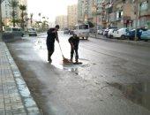 الأرصاد: فرص لسقوط أمطار خفيفة خلال الـ72 ساعة المقبلة فى سيناء والصعيد