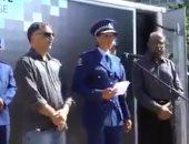 بآيات قرآنية.. مسئولة بشرطة نيوزيلندا تلقى كلمة أمام الجمهور.. فيديو