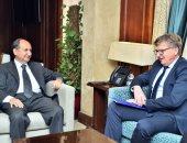 سفير الاتحاد الأوروبى: بحث عقد مؤتمر بين المفوضية وهيئة القناة بشأن الاستثمار