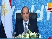 السيسى: ندعم خيارات الشعب السوداني وإرادته الحرة في صياغة مستقبله