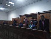 محكمة جنايات المنصورة ترفع جلسة محاكمة محمود نظمى للمداولة