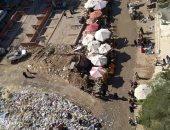 مناشدة من سكان حى مدينة نصر لفض الفوضى والعشوائية والقمامة