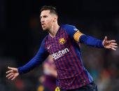 برشلونة ضد إسبانيول.. ميسي يسجل ويصل للهدف 40 للموسم العاشر  على التوالى