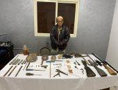 القبض على مسجل خطر حول مسكنه لمصنع أسلحة نارية بأطفيح