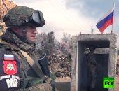 شاهد.. انتشار الشرطة العسكرية الروسية فى الجولان السورية