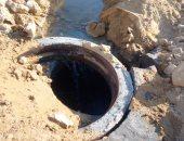 """للمحافظة على المياه.. """"محمد"""" يشكو من هدرها  فى 6 أكتوبر"""