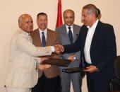 بروتوكول تعاون بين جامعة النهضة ومحافظة بنى سويف لتطوير وحدات صحية
