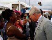 """صور .. جولة الامير البريطانى تشارلز وزوجته كاميلا فى """"الكاريبى"""""""
