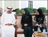 محمد بن زايد يستقبل رئيسة مجلس النواب البحرينى لبحث العلاقات الثنائية