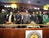 صور.. انطلاق الحفل الختامى لأولمبياد شباب جامعات أفريقيا بحضور وزير الرياضة