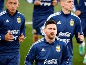 فيديو.. ميسي يشارك فى تدريبات الأرجنتين للمرة الأولى منذ مونديال روسيا