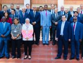 رئيس زامبيا يطلب من اتحاد الصناعات دراسة مشروع إقامة مزارع سمكية فى بلاده