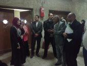 نائب رئيس جامعة الأزهر يتفقد مدينة الطالبات بأسيوط..ويحذر: فصل مروجى الشائعات