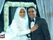 صور.. نجوم الرياضة علي رأس الحضور في حفل زفاف بلال نظير
