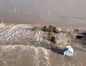 إجلاء مئات العائلات غرب الولايات المتحدة بسبب فيضانات نهر ميزورى