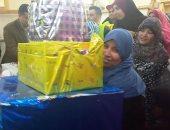 """صور.. """"مصر الخير"""" تكرم الأمهات المنتجات بمصنع أبيس فى الإسكندرية"""