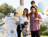 لحظات سعادة أسرية للنجم الأرجنتينى ميسى.. وزوجته: عيد أب سعيد.. نحبك يا ليو