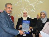 صور.. المحرصاوى يفتتح معرضًا خيريًا بالمجان خدمة لطالبات جامعة الأزهر