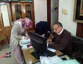 فيديو وصور .. تعليم كفر الشيخ: 108 مرشحاً وقعوا على عقود الوظائف المؤقتة