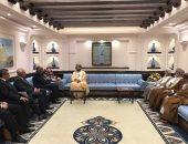 وزير الخارجية يلتقى نائب رئيس الوزراء العمانى فى مسقط