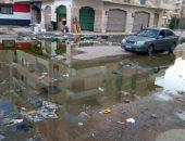 """""""مياه القناة"""" تنهى إنسداد خط عمارات الأوقاف وتفعل العدادات مسبوقة الدفع"""