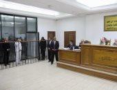 صور.. النيابة تتلو أمر إحالة حمادة السيد لاعب أسوان و43 آخرين بتهمة الانضمام لداعش
