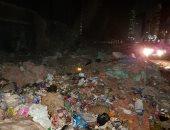 قمامة ومياه مجارى أمام متحف الأمير يوسف كمال.. وشكوى تطالب المسئولين بالتدخل