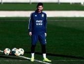 أخبار ميسي اليوم عن عودته لتدريبات الأرجنتين استعدادا للقاء فنزويلا