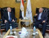 وزيرا النقل والإنتاج الحربى يتابعان مشروعات تطوير السكة الحديد