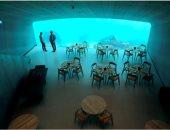 لو مش بتخاف.. النرويج تفتتح أول مطعم تحت الماء فى أوروبا للمأكولات البحرية