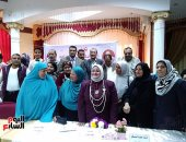 """فيديو وصور.. """"تعليم كفر الشيخ"""" تحتفل بعيد الأم بتكريم العاملات والعاملين فى الإدارة"""