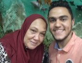 """عيد على ست الحبايب.. """"مروان"""" لوالدته الحاجة هدية: ربنا يحميكى ويديكى الصحة"""