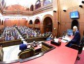 """صور.. رئيس مجلس الدولة الأسبق: الهيئات القضائية تؤيد التعديلات الدستورية وأرفض تعديل """"190"""""""