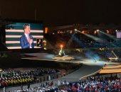 """""""حضور كبير"""" ..لنجوم الطرب فى الأغنية الرسمية للأولمبياد الخاص بأبوظبى..فيديو"""