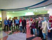 جامعة المنوفية بالمركز الأول فى مسابقة الإيكو بمؤتمر تدويل التعليم العالى