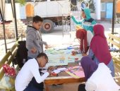 اتحاد طلاب جامعة الوادى الجديد ينظم معسكر خدمة عامة بالمدينة الجامعية