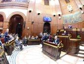 صور.. بدء جلسة الحوار المجتمعى الثالثة حول التعديلات الدستورية