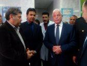 صور.. محافظ جنوب سيناء يتفقد مستشفى طابا المركزى