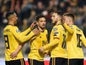 فيديو.. هازارد يقود بلجيكا لعبور روسيا بثلاثية فى تصفيات يورو 2020