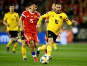 بلجيكا تضرب أسكتلندا بثلاثية فى الشوط الأول.. فيديو
