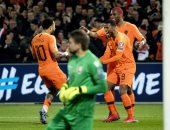 هولندا تكتسح روسيا البيضاء برباعية نظيفة فى تصفيات يورو 2020.. فيديو