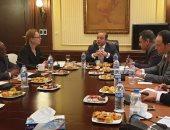 البورصة المصرية تجرى مباحثات لتفعيل مشروع الربط الإلكترونى بين البورصات الأفريقية