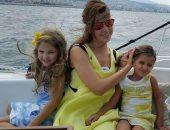 فى عيد الأم.. أجمل صور جمعت نانسى عجرم وطفلتيها