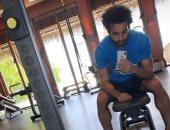 """محمد صلاح يرفع شعار """"لا وقت للراحة"""""""