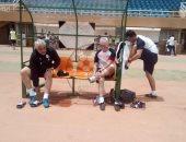 المنتخب يختتم تدريباته استعداداً للنيجر تحت درجة حرارة 40