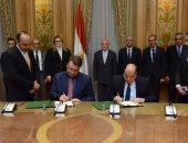 """""""العصار"""" يشهد توقيع مذكرة تفاهم مع شركة بولندية لإنشاء مصنع كبائن متنقلة"""
