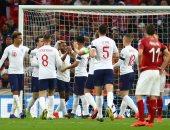 إنجلترا ضد التشيك.. الأسود الثلاثة تتفوق بثنائية سترلينج وكين بالشوط الأول